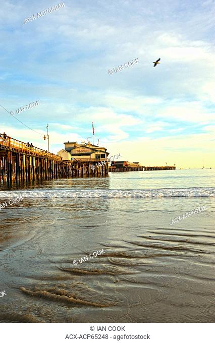 Stearns Wharf, Santa Barbara, California, USA