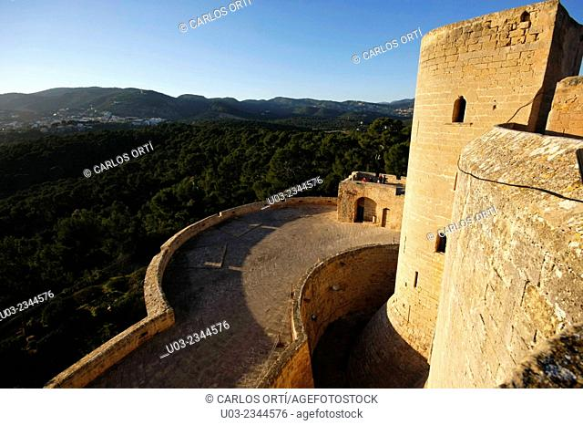 Castle of Bellver, Palma de Majorca. Spain