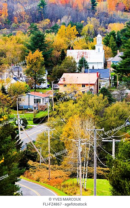 Village of Abercorn, Eastern Townships, Quebec