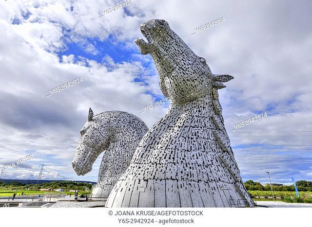 The Kelpies, The Helix Project, Falkirk, Scotland, United Kingdom