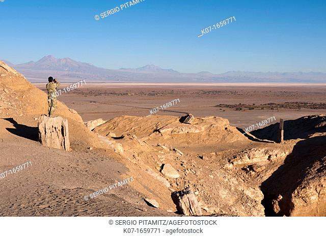 Valle de la Luna Valley of the Moon, Atacama Desert, Chile