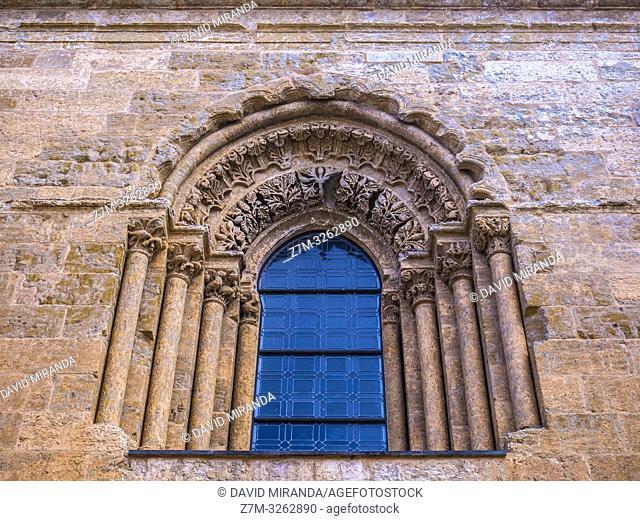 Ventana de la catedral de Santa María. Ciudad Rodrigo. Salamanca. Castilla León. España