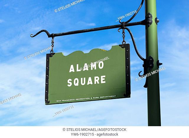 Alamo Square, San Francisco, USA