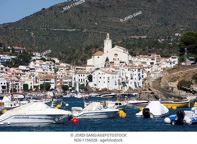 Cadaques bay, Alt Emporda, Girona province, Catalonia, Spain