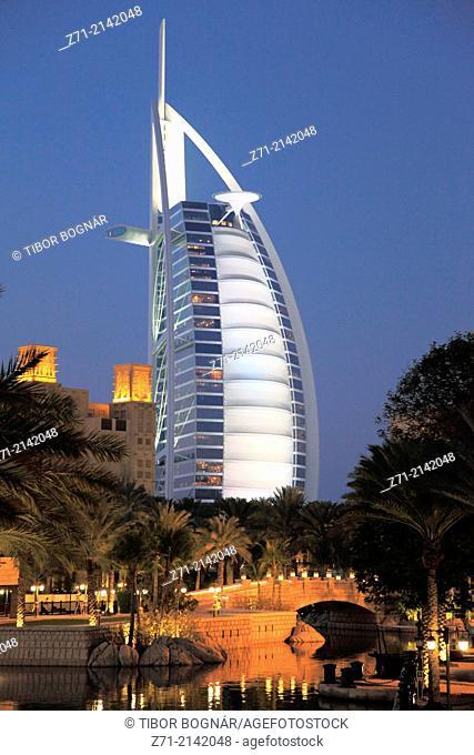 United Arab Emirates, Dubai, Burj al-Arab Hotel,