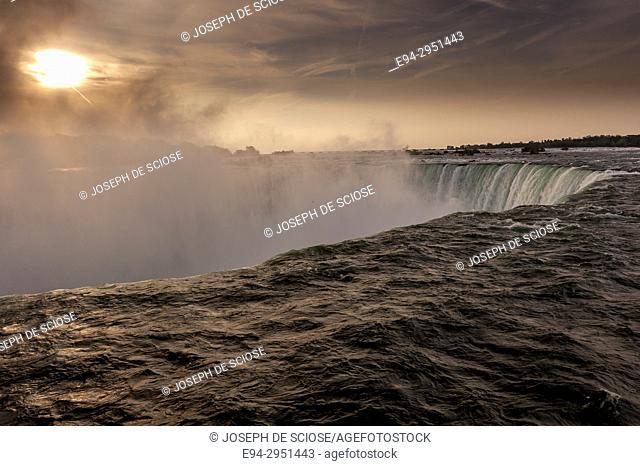 Sunrise at Niagara Falls, Ontario, Canada