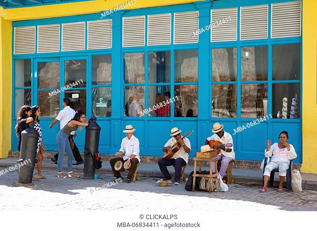 Cuba, Republic of Cuba, Central America, Caribbean Island. Havana city