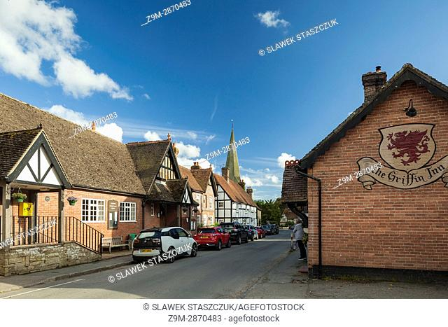 Spring afternoon in Fletching village, East Sussex, England
