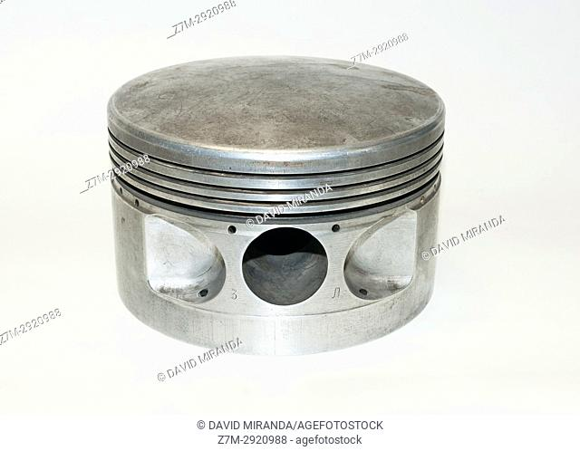 Piston, part of automotive engine