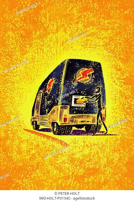 Express Delivery Van