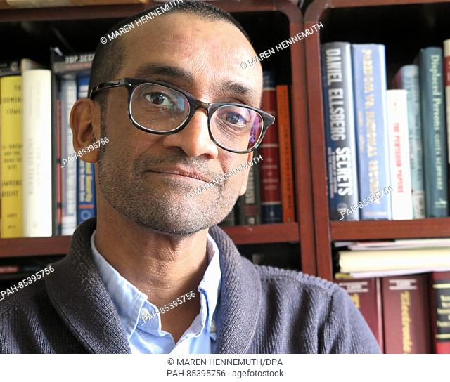 Lawyer Shane Kadidal of the human rights organisation Center for Constitutional Rights, photographed in New York, US, 27 September 2016