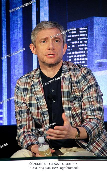 "Martin Freeman 01/30/2018 """"Black Panther"""" Press Conference held at The Montage Beverly Hills Luxury Hotel in Beverly Hills"