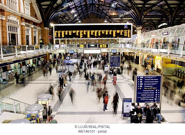 Liverpool Street Station, The City, Train Station, East London