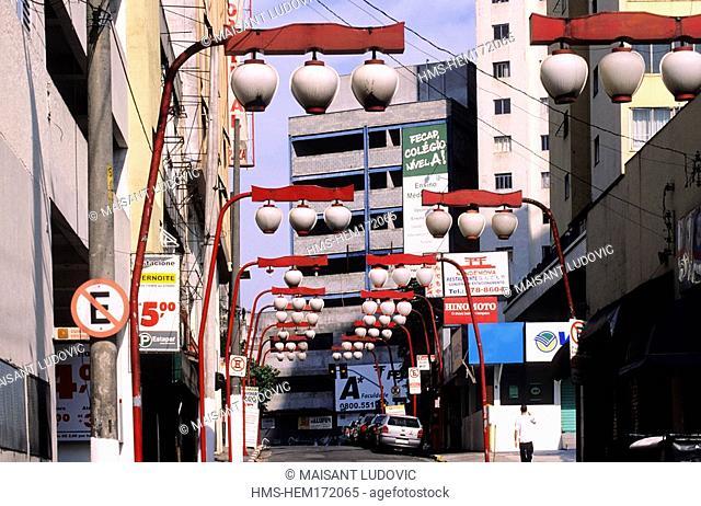 Brazil, San Paulo State, San Paulo city, Liberdade, Japanese District