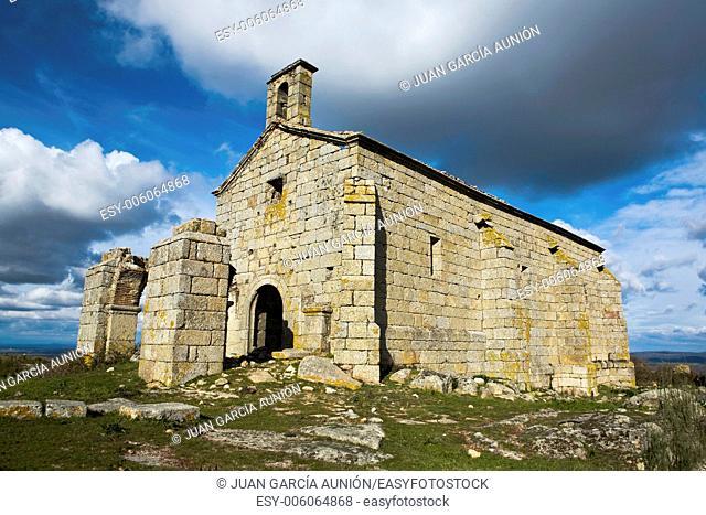 Old hermitage in ruins of Valbon, Valencia de Alcantara, Extremadura, Spain