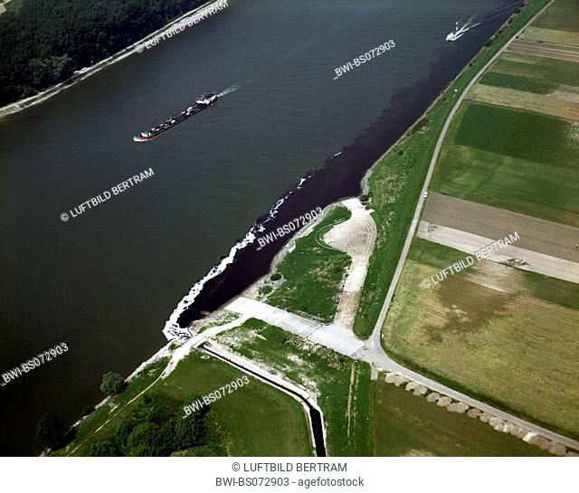 effluents in the Rhein River