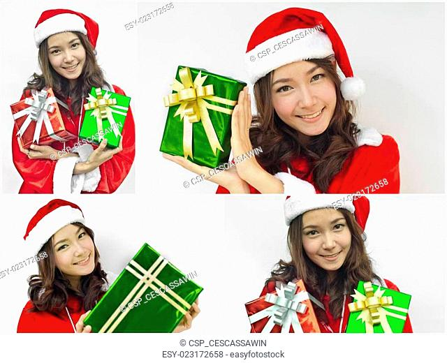 Asian Santa Clause female