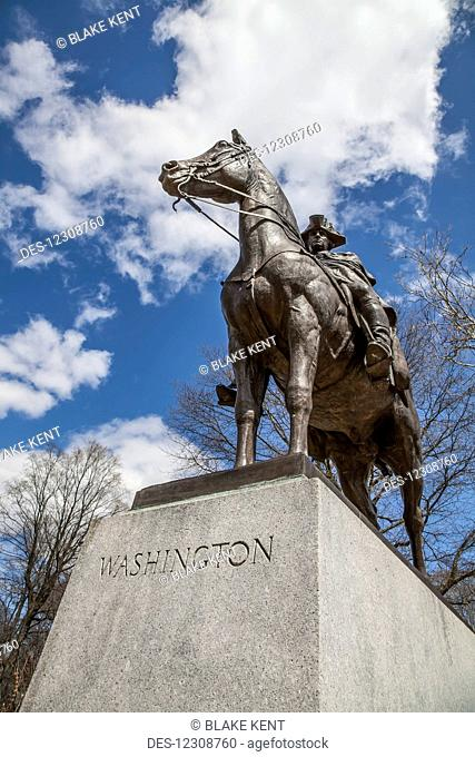 Statue of General George Washington; Morristown National Historical Park; Morristown, New Jersey, United States of America