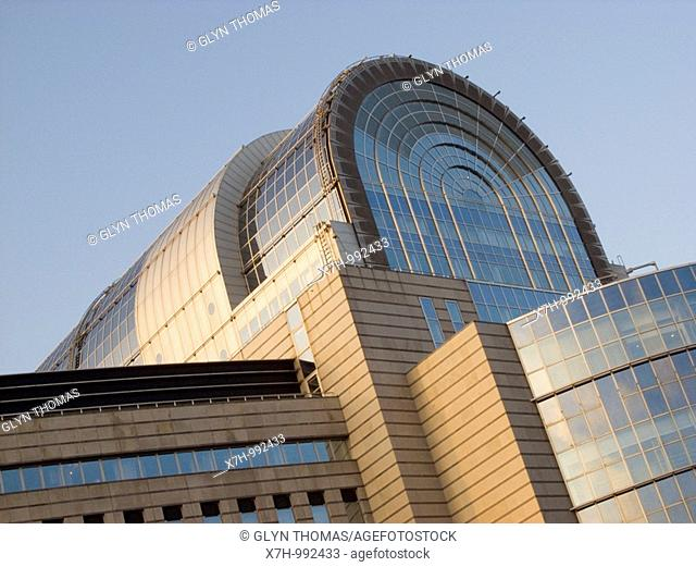 Paul-Henri Spaak Building - European Parliament - Brussels, Belgium