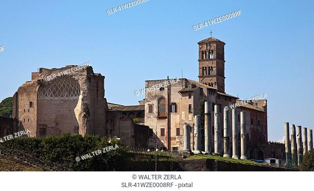 Ancient ruins in Rome