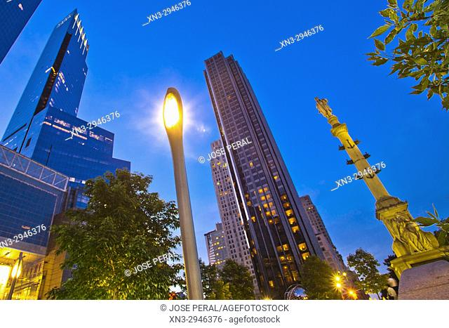 Trump International Hotel and Tower, Columbus Circle, Midtown, Manhattan, New York City, USA