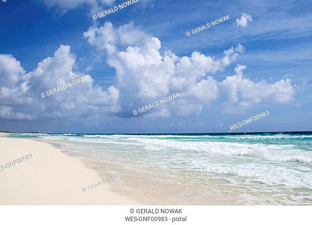 Mexiko, Cozumel, White sand Beach