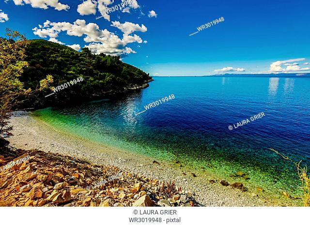 Racisce Beach on Korcula Island, Croatia, Europe