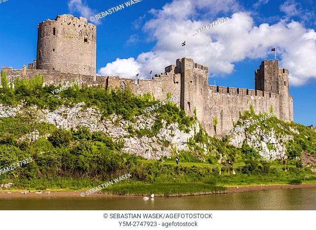 Pembroke Castle, Pembrokeshire, Wales, United Kingdom, Europe