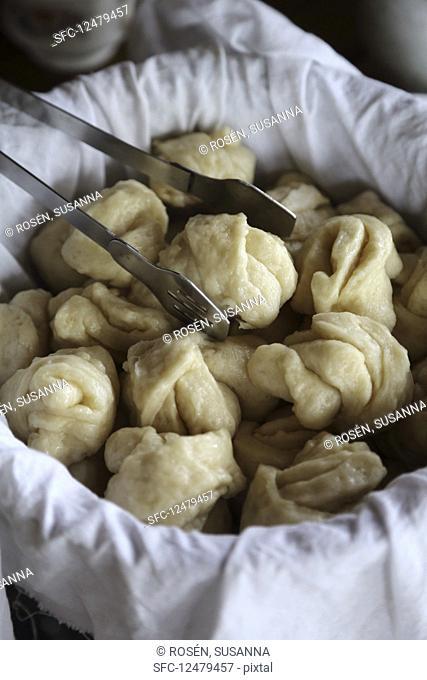 Tigmo bread from Tibet