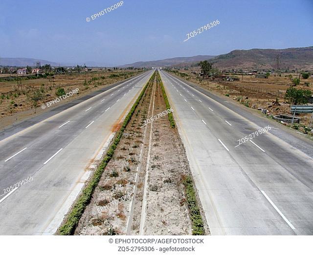 Pune - Mumbai Express Highway, Maharashtra, India