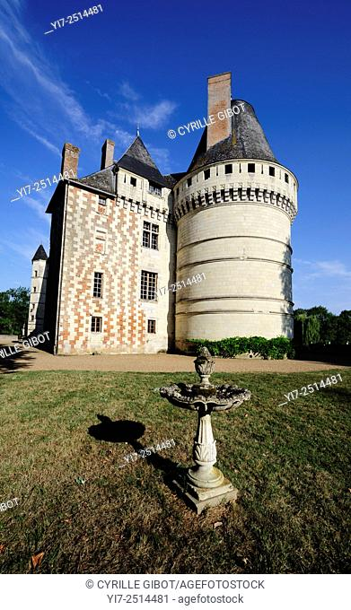 France, Loire Valley, Indre et Loire, Islette castle, Chateau de l'Islette. The French sculptor Auguste Rodin visited the castle and his lover Camille Claudel...