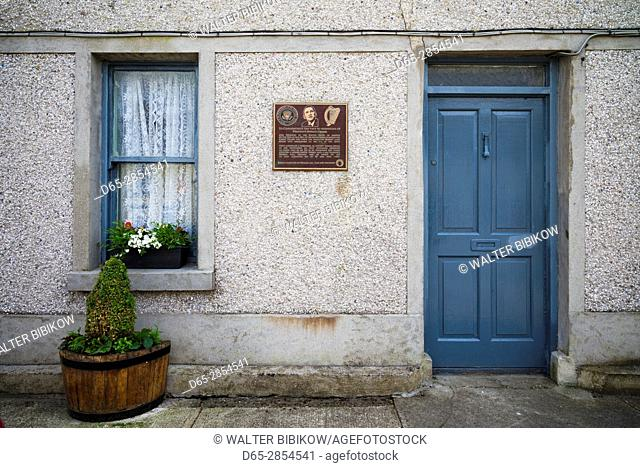 Ireland, County Offaly, Moneygall, Obama Ancestral Home, house where President Obama's Irish ancestors, the Kearney Family
