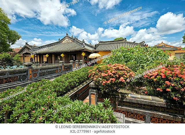 Truong Du Pavilion at the Dien Tho Residence. Imperial City, Hue, Vietnam
