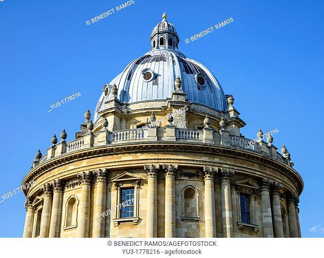 Radcliffe Camera, University of Oxford, England, UK
