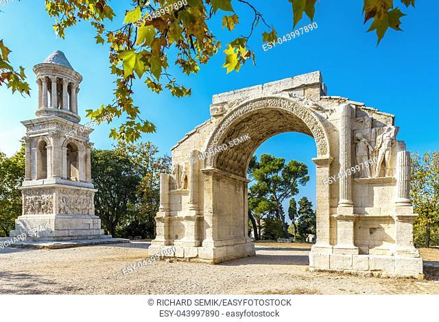 Glanum in summer, Provence