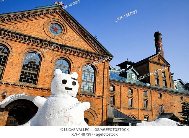 Sapporo Beer Museum and Beer gardens,the former Sapporo Brewery,Sapporo, Hokkaido, Japan