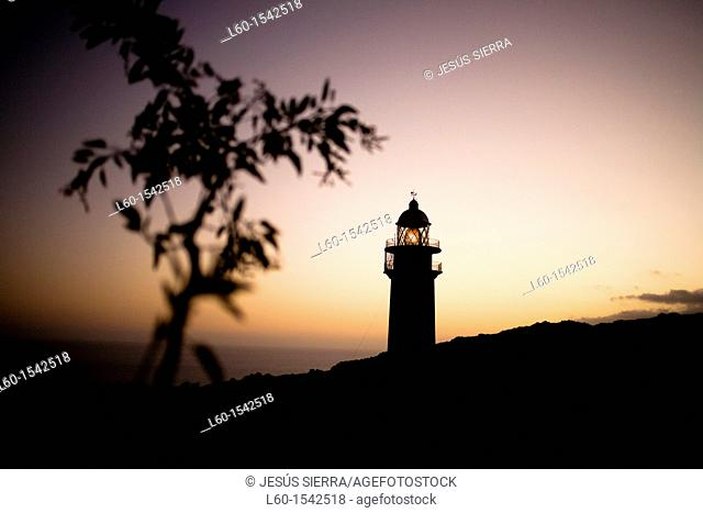 Orchilla Lighthouse, El Hierro, Canary Islands, Spain
