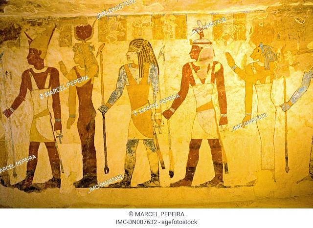 Egypt, lybian desert, Bahariya oasis, Bannentiu tomb