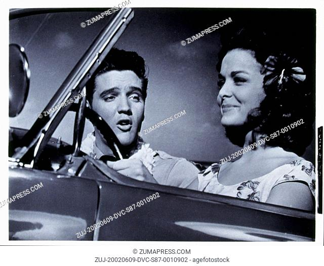 1961, Film Title: BLUE HAWAII, Director: NORMAN TAUROG, Studio: PARAMOUNT, Pictured: JOAN BLACKMAN, ELVIS PRESLEY. (Credit Image: SNAP/ZUMAPRESS.com)