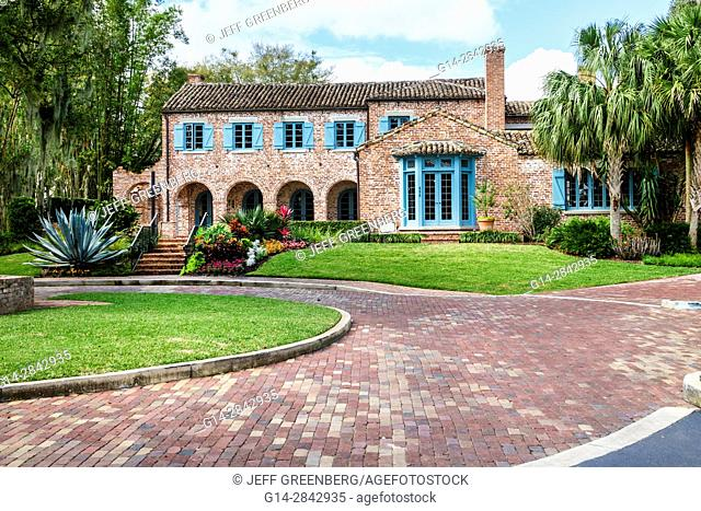 Florida, Winter Park, Orlando, Casa Feliz, restoration, mansion, house museum, Robert Bruce Barbour House, National Register of Historic Places