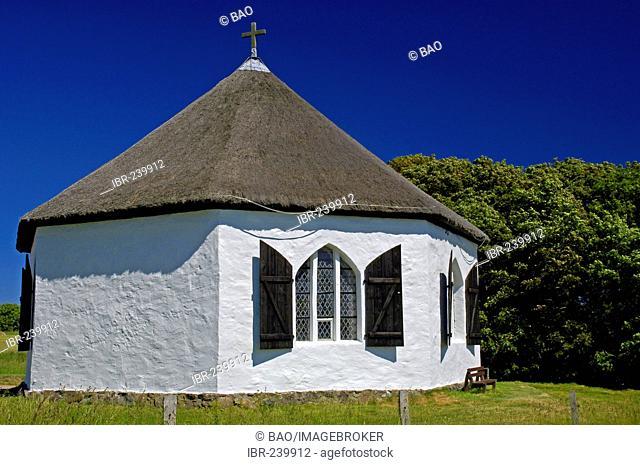Little church of Vitt, Cape Arkona, Ruegen, Mecklenburg-Western Pomerania, Germany