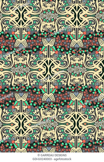Colorful intricate design