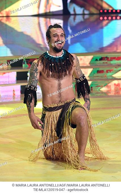 Dani Osvaldo during the performance at the tv show Ballando con le setelle (Dancing with the stars) Rome, ITALY-11-05-2019