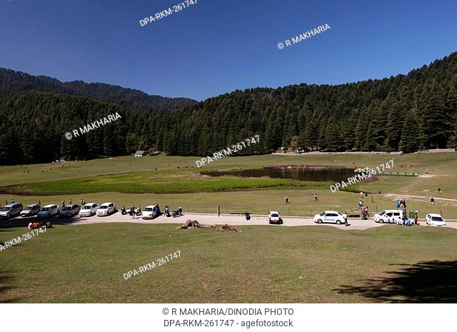 khajjiar a hill station in chamba, himachal pradesh, India, Asia