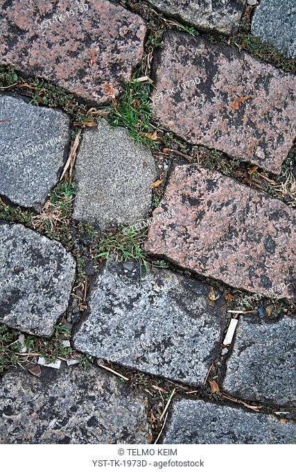 Stone texture, street, São Paulo, Brazil