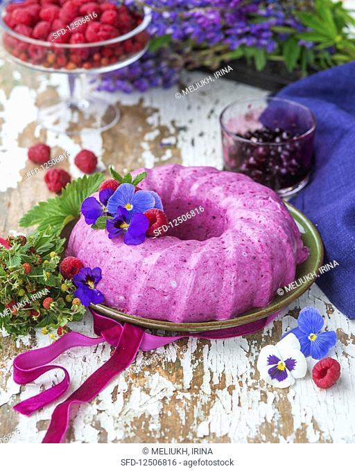 Berry no bake cheesecake