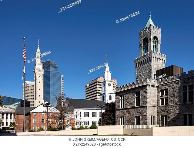 Downtown, Springfield, Massachusetts, USA