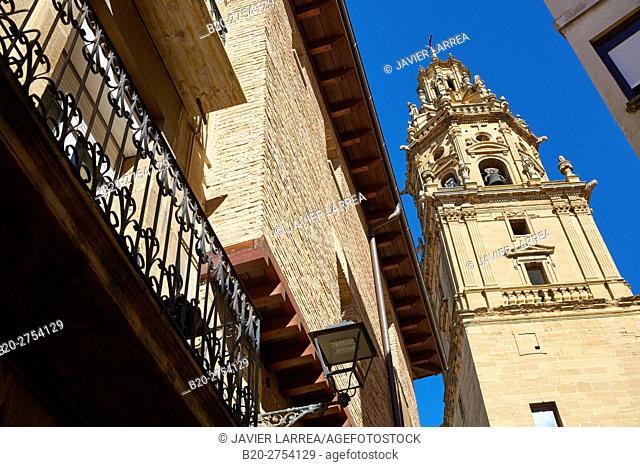 Santo Tomás Apóstol Church, Haro, La Rioja, Spain, Europe