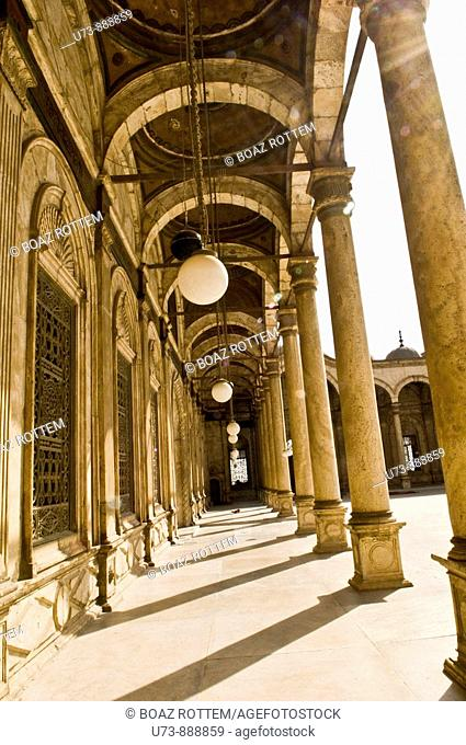 Mosque of Muhammad Ali Pasha or Alabaster Mosque Arabic:   , Turkish: Mehmet Ali Pasa Camii is a mosque situated in the Citadel of Cairo