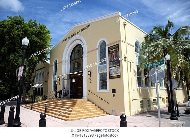 the jewish museum of florida miami south beach florida usa